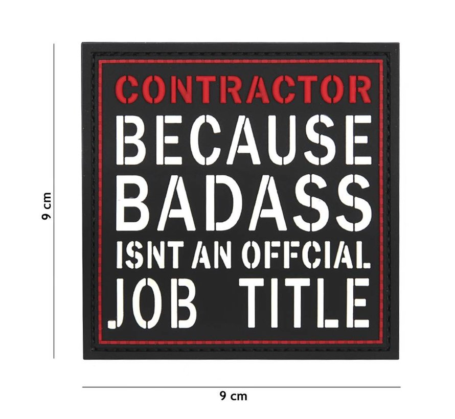 Contractor Badass PVC Patch