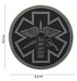 101 Inc Paramedic PVC Patch