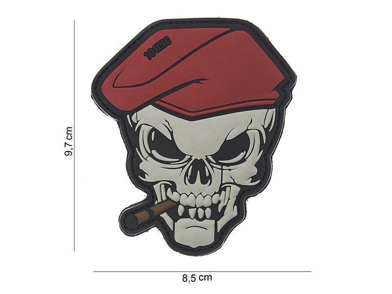 101 Inc Sigar Skull PVC Patch