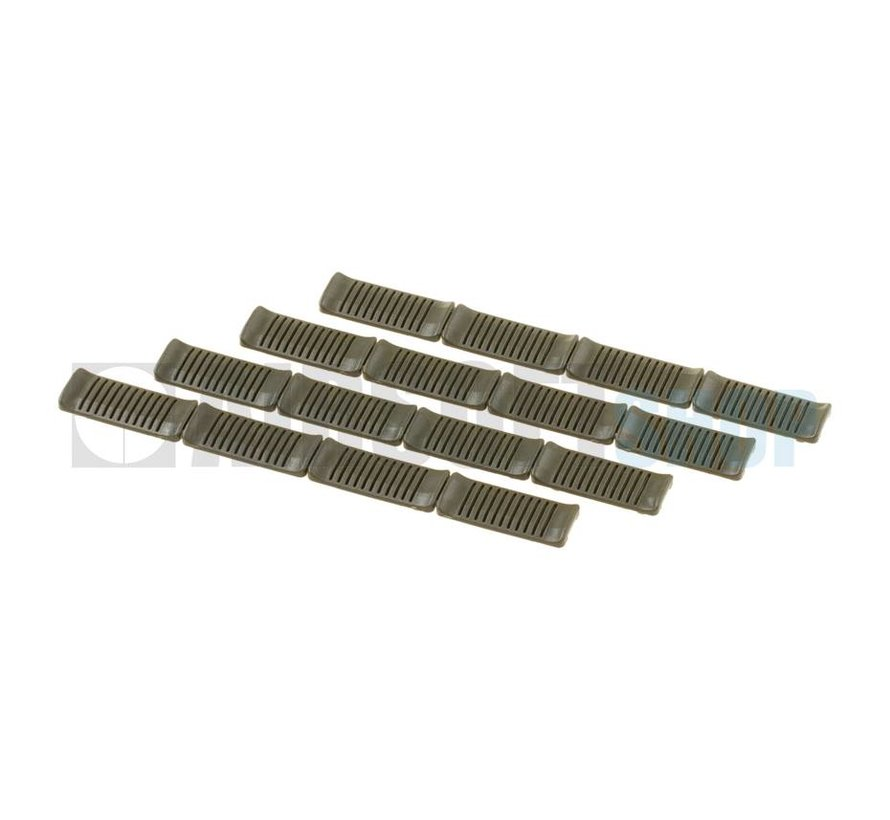 M-Lok Rail Covers (Olive)