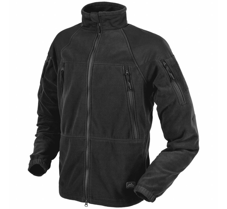 Stratus Heavy Fleece Jacket (Black)