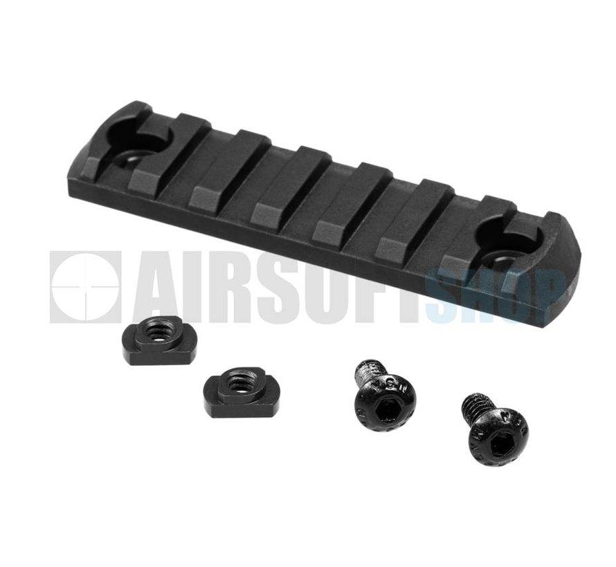 M-Lok Polymer Rail Section 7 Slots (Black)
