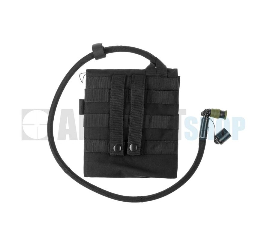 Kangaroo 1L Collapsible Canteen + Pouch (Black)