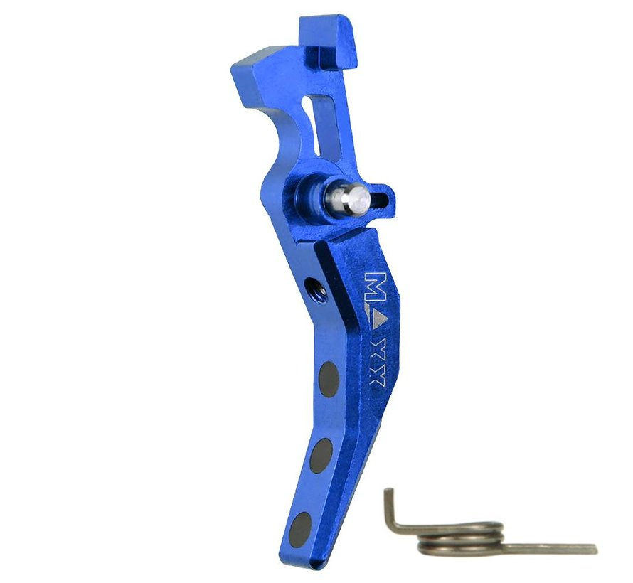 CNC Alu Advanced Trigger (Style C) (Blue)