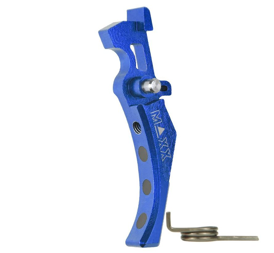 CNC Alu Advanced Trigger (Style D) (Blue)