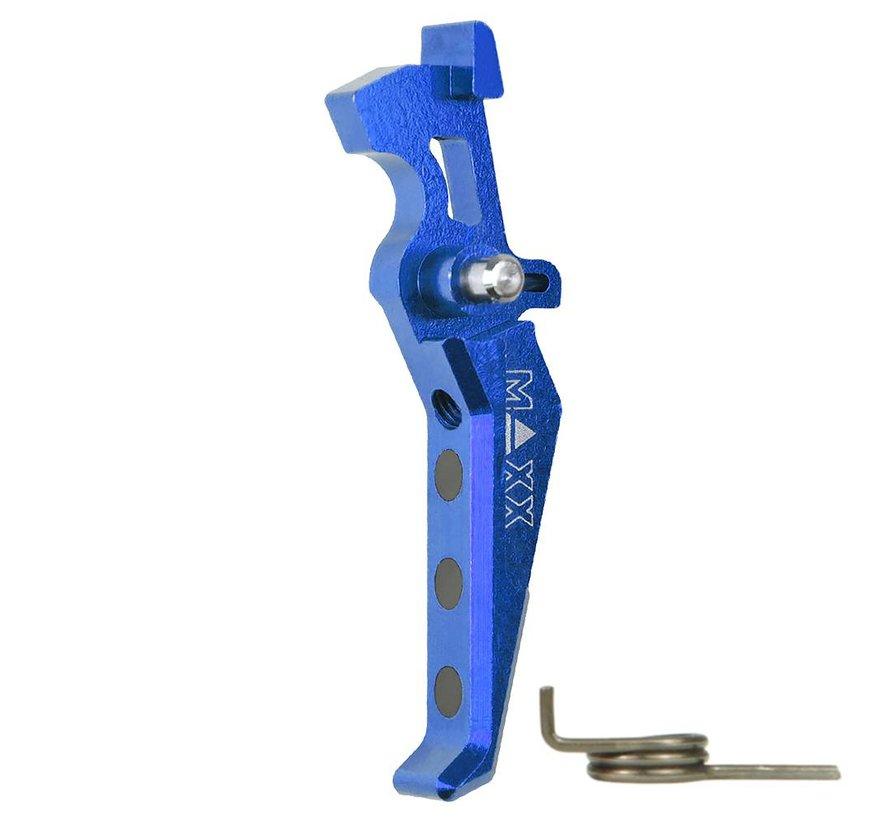 CNC Alu Advanced Trigger (Style E) (Blue)