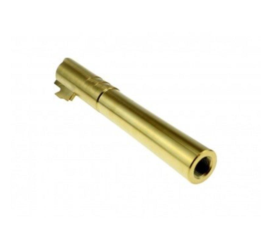 Hi-Capa OB1 5.1 SS Threaded Outer Barrel  (Gold)
