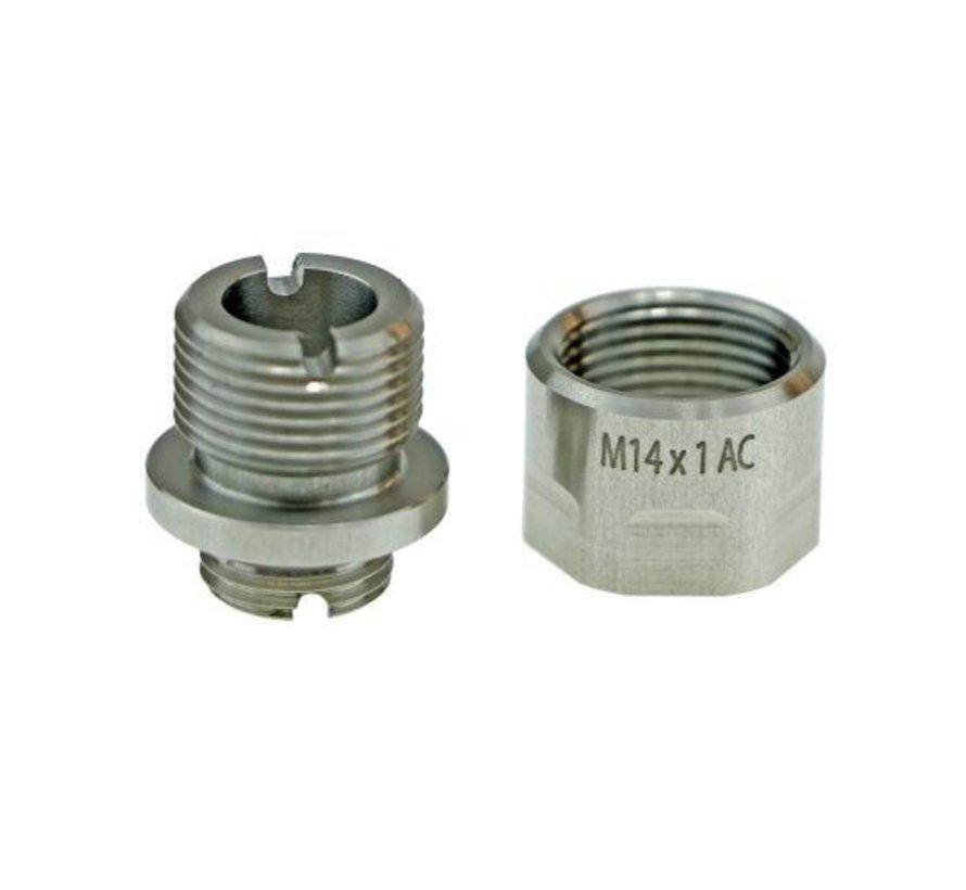 A01 Silencer Adapter (Silver)