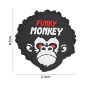 101 Inc Funkey Monkey PVC Patch