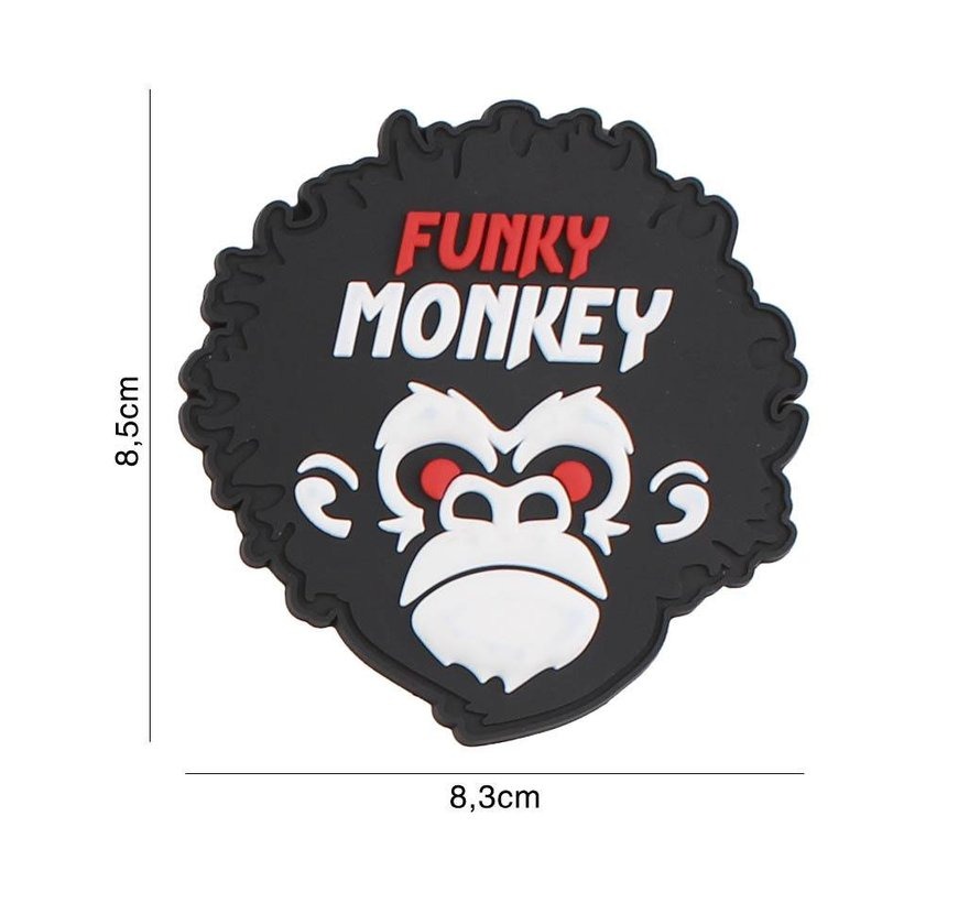 Funkey Monkey PVC Patch
