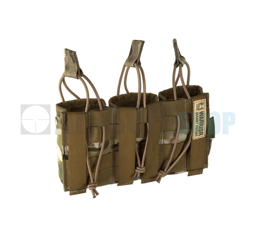 Triple Open Mag Pouch AK 7.62mm (Multicam)