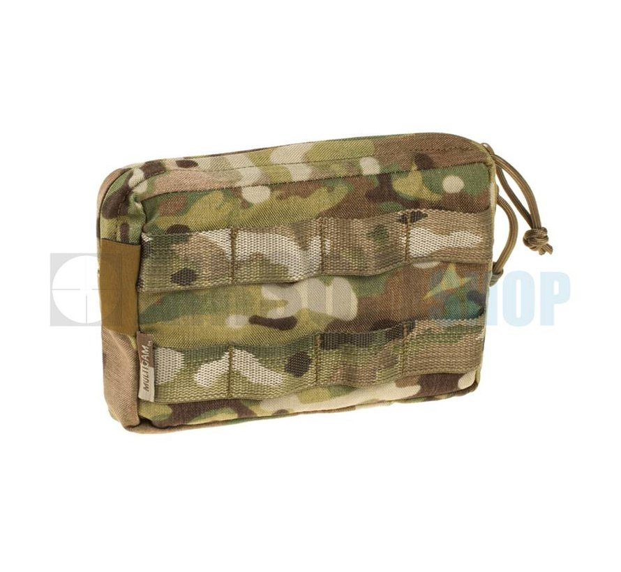 Small Horizontal MOLLE Pouch Zipped (Multicam)