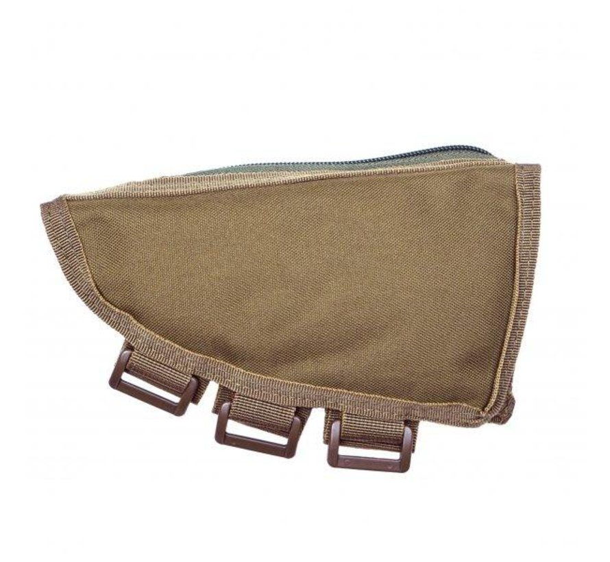 Rifle Stock Ammo Pouch (Tan)