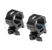 Leapers 30mm QD Pro Max Stength Rings (Medium 25mm wide)