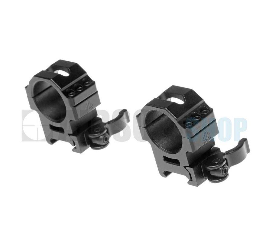30mm QD Pro Max Stength Rings (Medium 25mm wide)