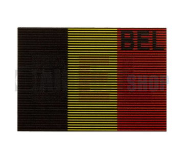 Claw Gear Dual IR Patch BEL (Belgium) (Color)