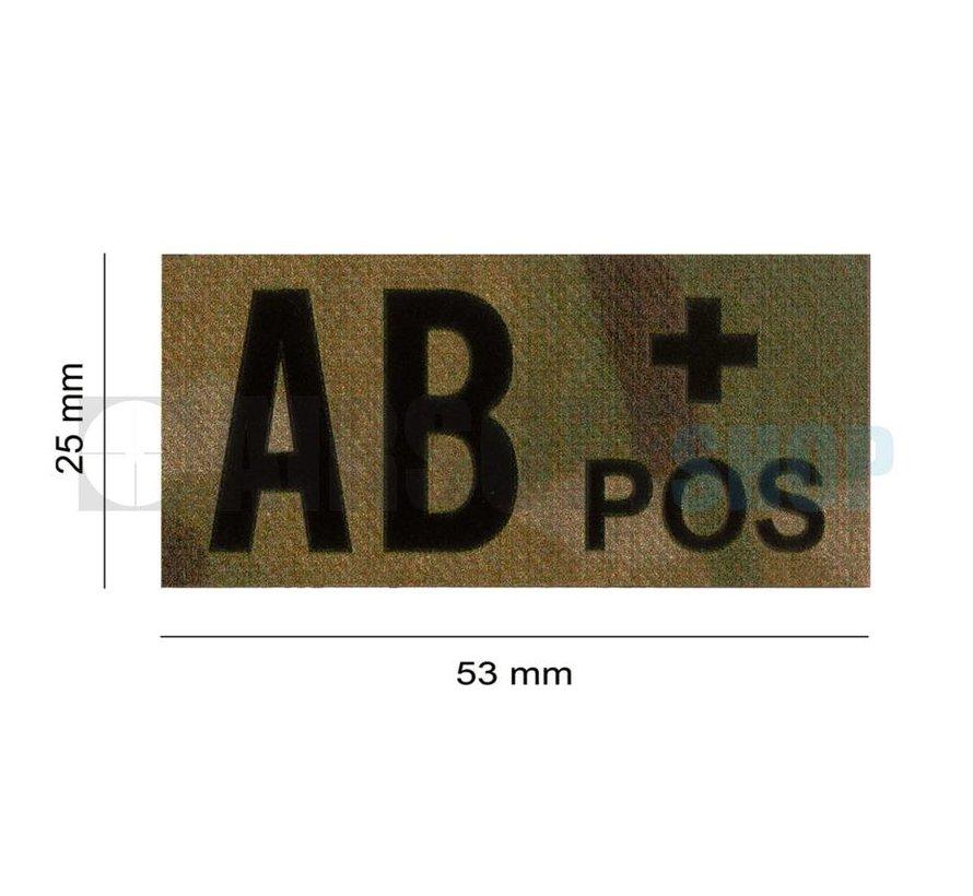 AB Pos IR Patch (Multicam)