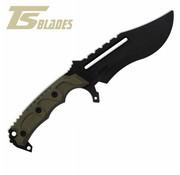 TS Blades Raptor G3 PVC Handle (Olive Drab)