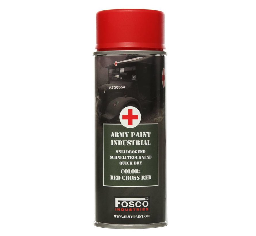 Spray Paint Red Cross Red 400ml