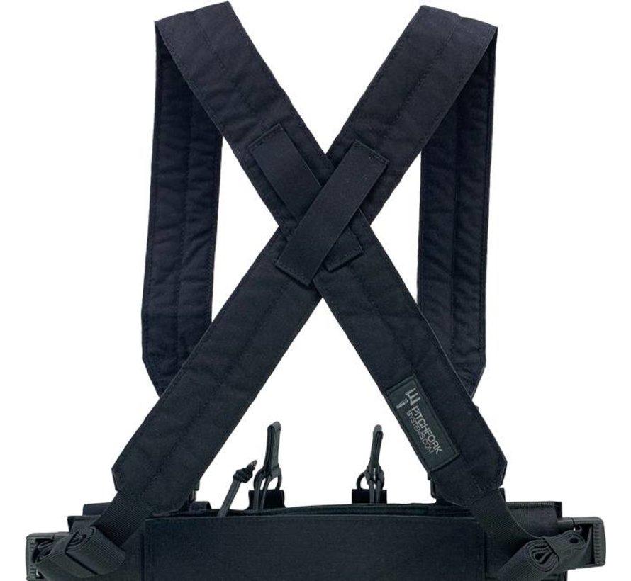 MCR Modular Chest Rig Complete Set (Black)