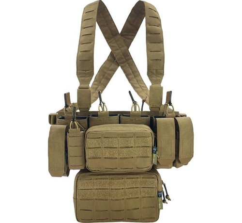 Pitchfork MCR Modular Chest Rig Complete Set (Coyote)