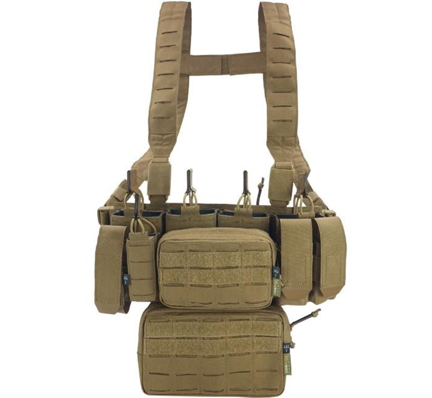 MCR Modular Chest Rig Complete Set (Coyote)