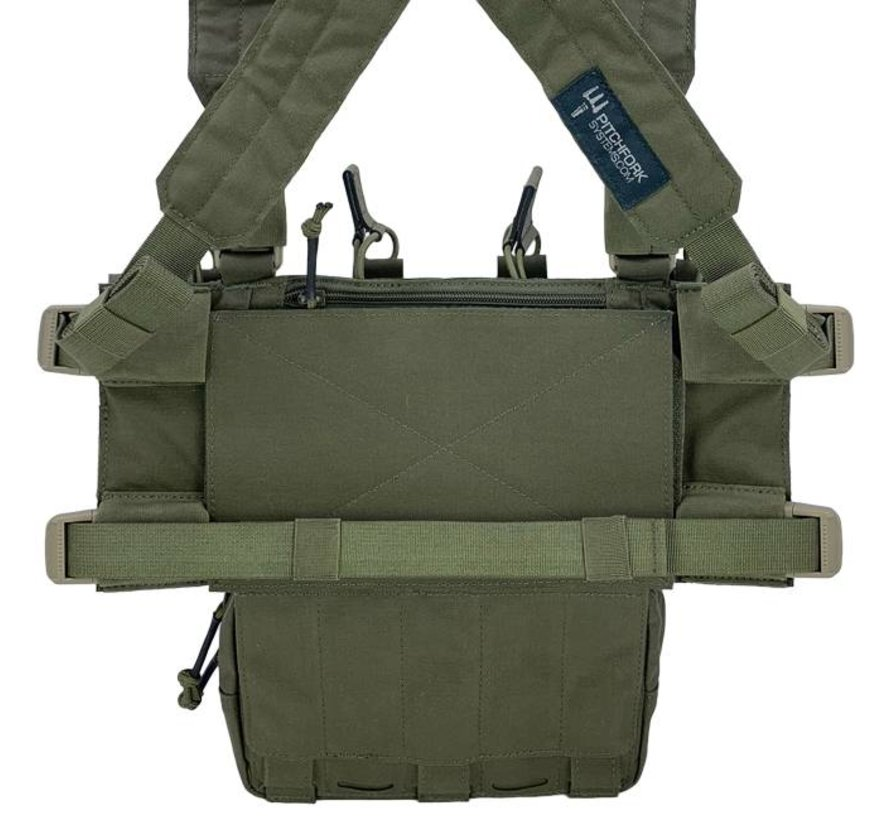 MCR Modular Chest Rig Complete Set (Ranger Green)