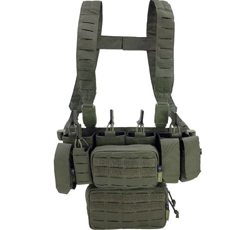 Pitchfork MCR Modular Chest Rig Complete Set (Ranger Green)