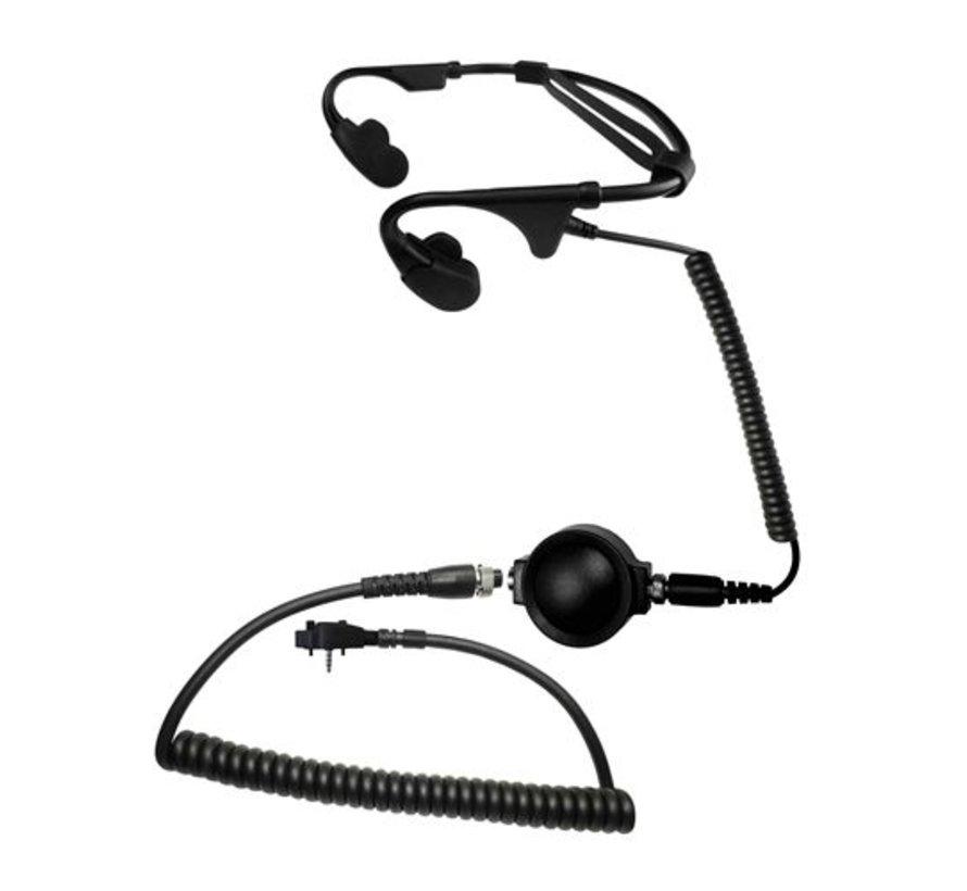 Battle Zero Bone Conducting Headset  (Kenwood/Baofeng)