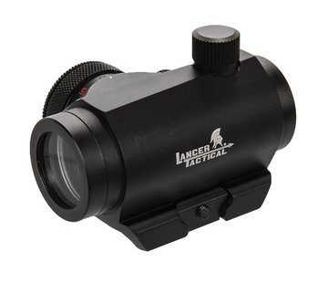 Lancer Tactical Mini Red Dot Red / Green  (Black)