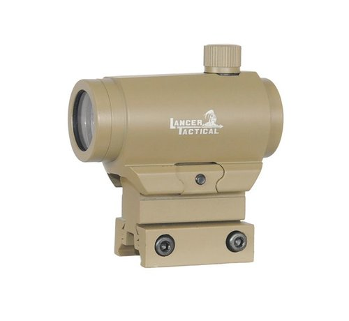 Lancer Tactical Micro T1 Red Dot Red / Green  (Tan)