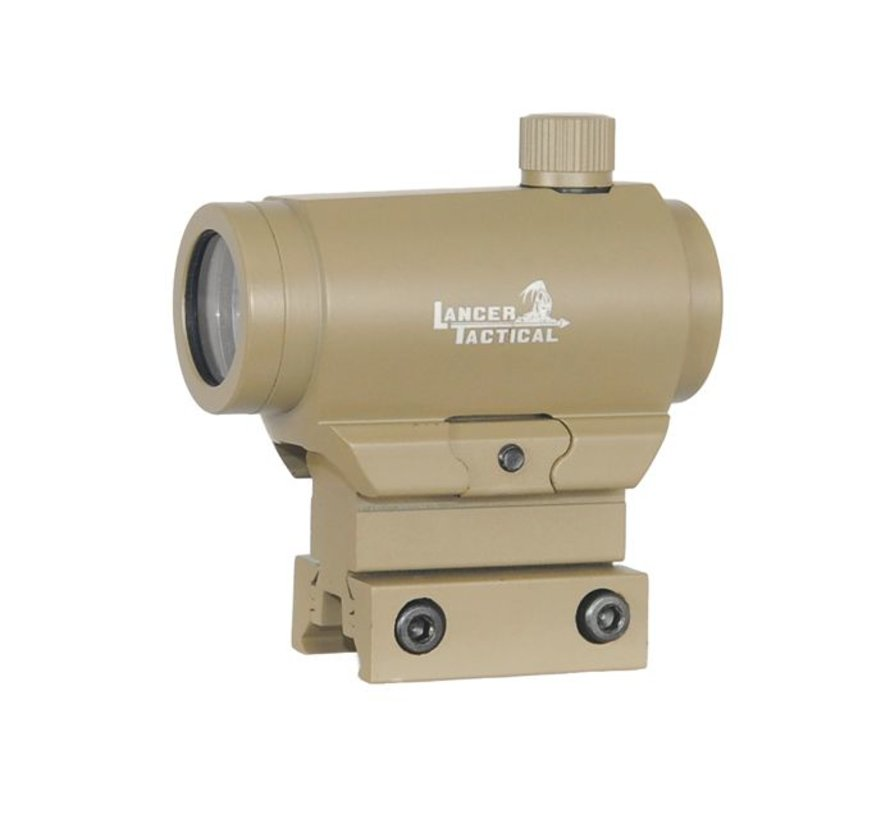 Micro T1 Red Dot Red / Green  (Tan)