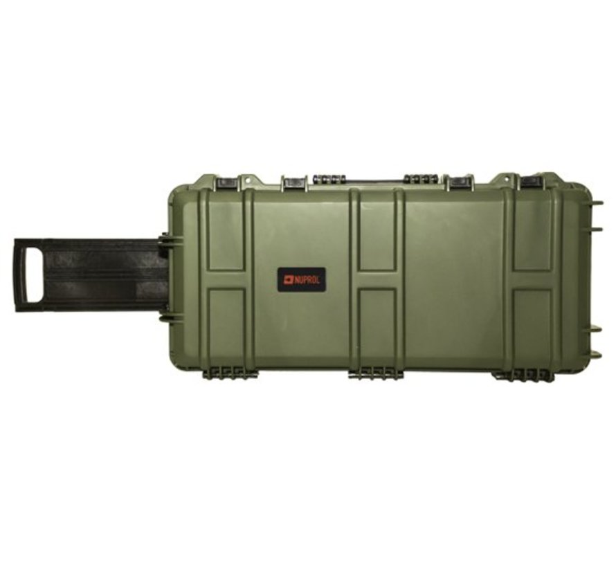 Medium Hard Case (Pluck Foam) (Green)