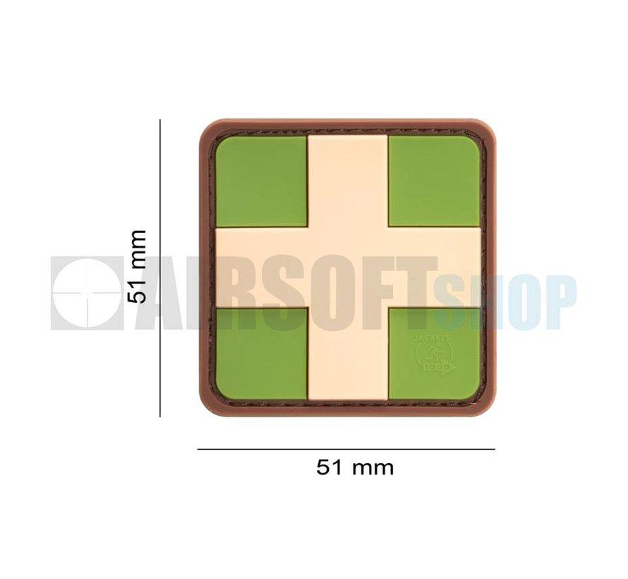 Red Cross PVC Patch (Multicam)