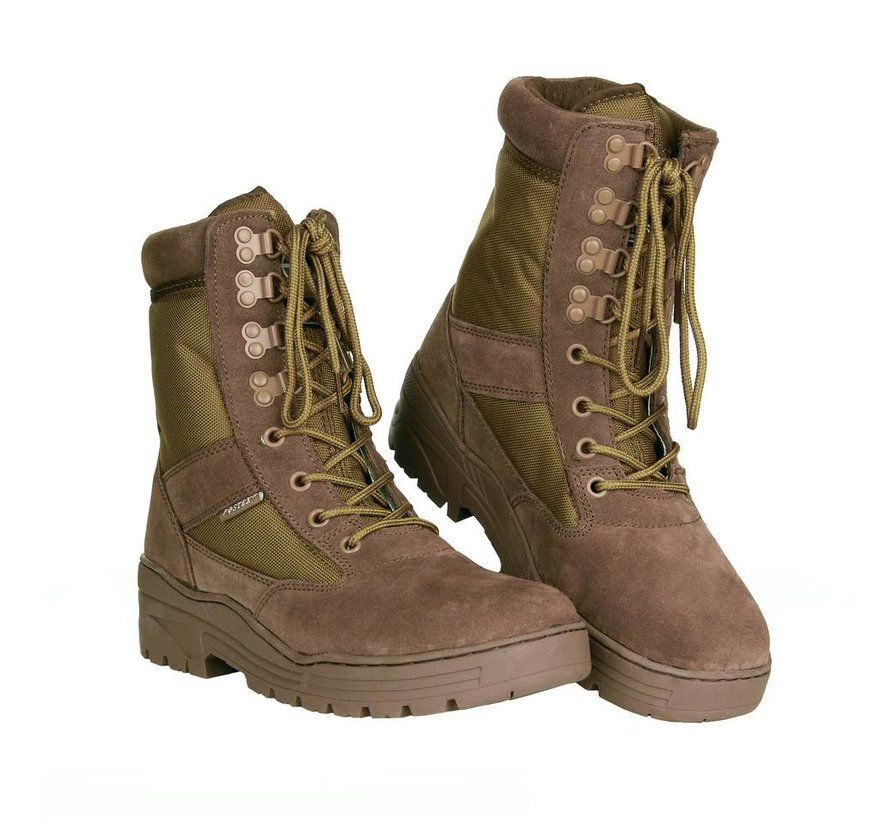 Sniper Boots (Wolf Brown)