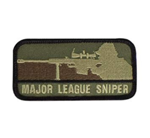 MIL-SPEC MONKEY Major League Sniper Patch (Forest)