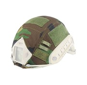Invader Gear FAST Helmet Cover (Woodland)