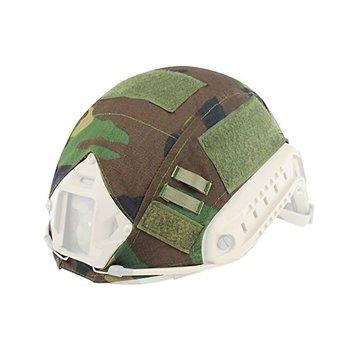 Invader Gear FAST Helmet Cover (Woodland)