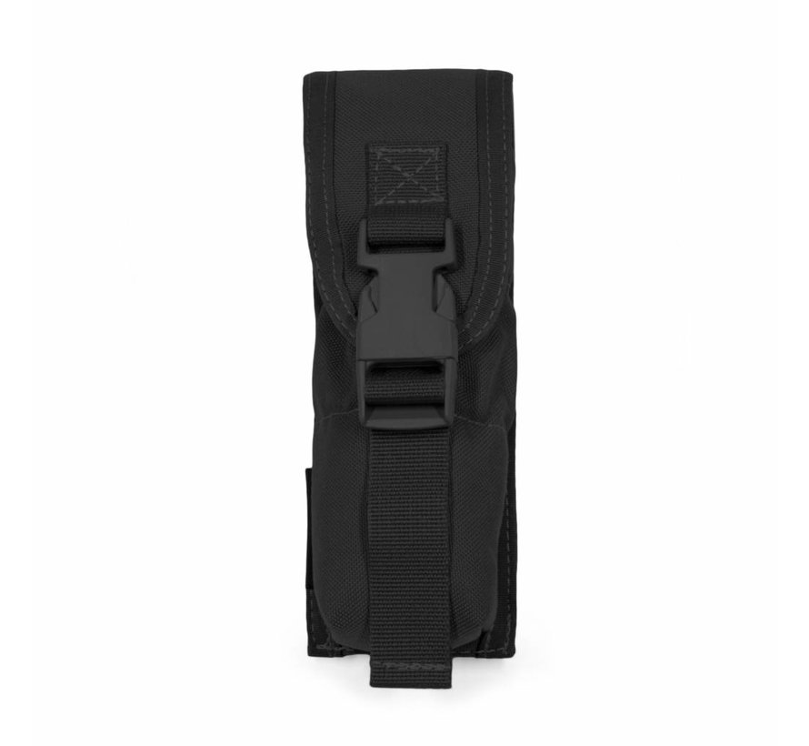 Large Torch/Suppressor Pouch (Black)