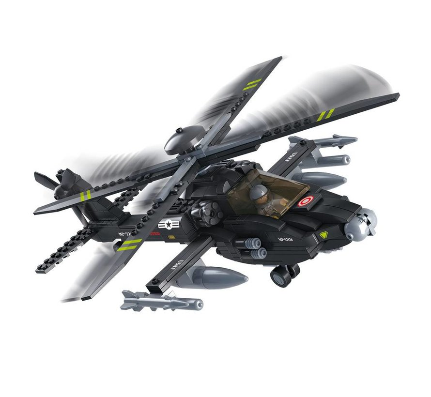 Apache Helicopter M38-B0511