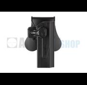 Amomax Paddle Holster for WE / KJW / TM Hi-Capa (Black)