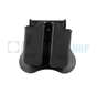 Double Mag Pouch for P226 / M9 / CZ P-09 (Black)