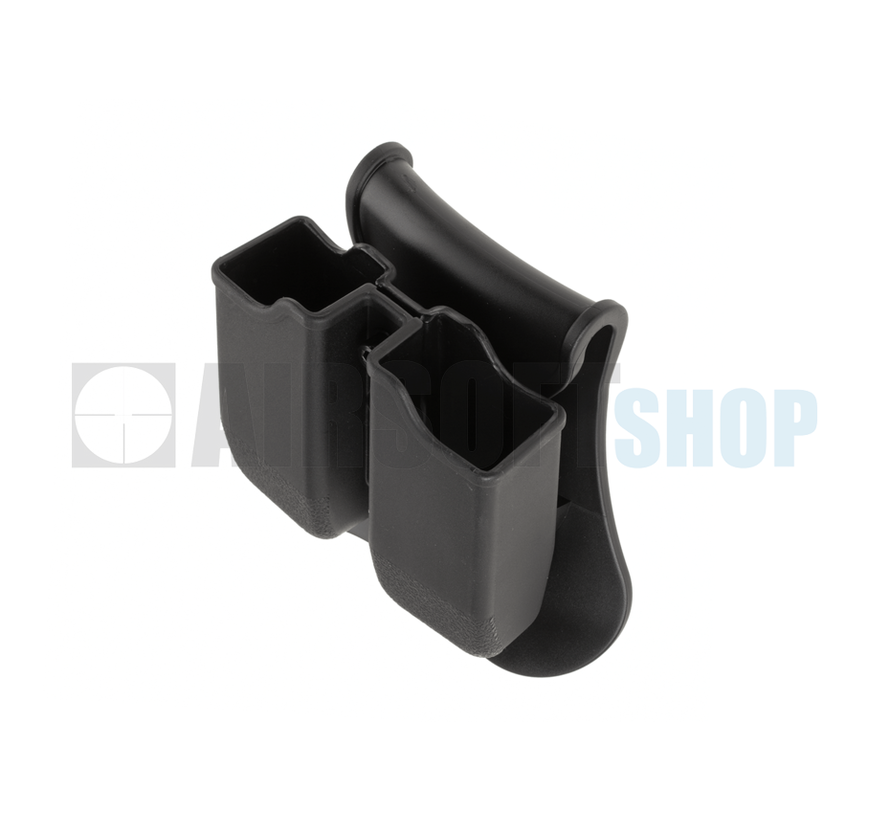 Double Mag Pouch for WE / KJW / TM 17/19 (Black)