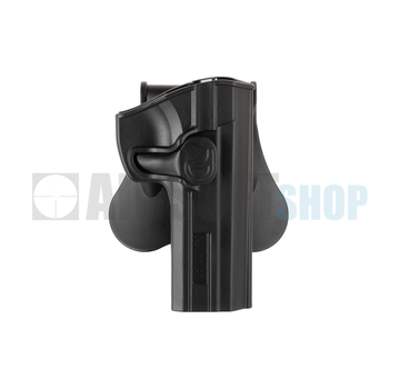 Amomax Paddle Holster for CZ 75 SP-01 (Black)