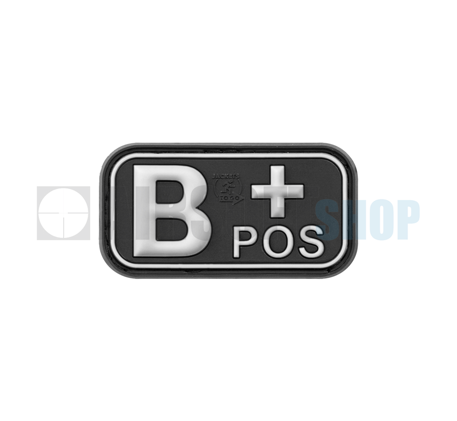 Bloodtype Rubber Patch B POS (SWAT)