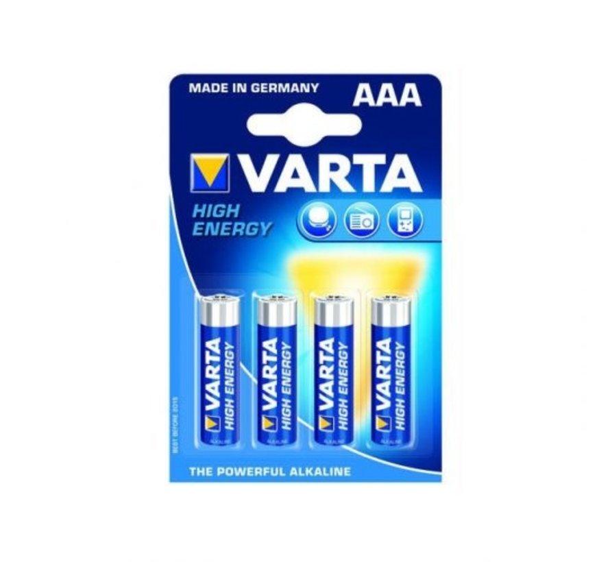 LR3 AAA Alkaline Batterij