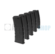Airsoft Systems 5-Pack M4 Lowcap 88rds (Black)