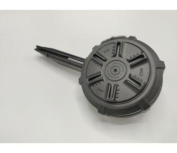 Airsoftshop HPA Tapped Drum Mag for TM Hi-Capa (Black)