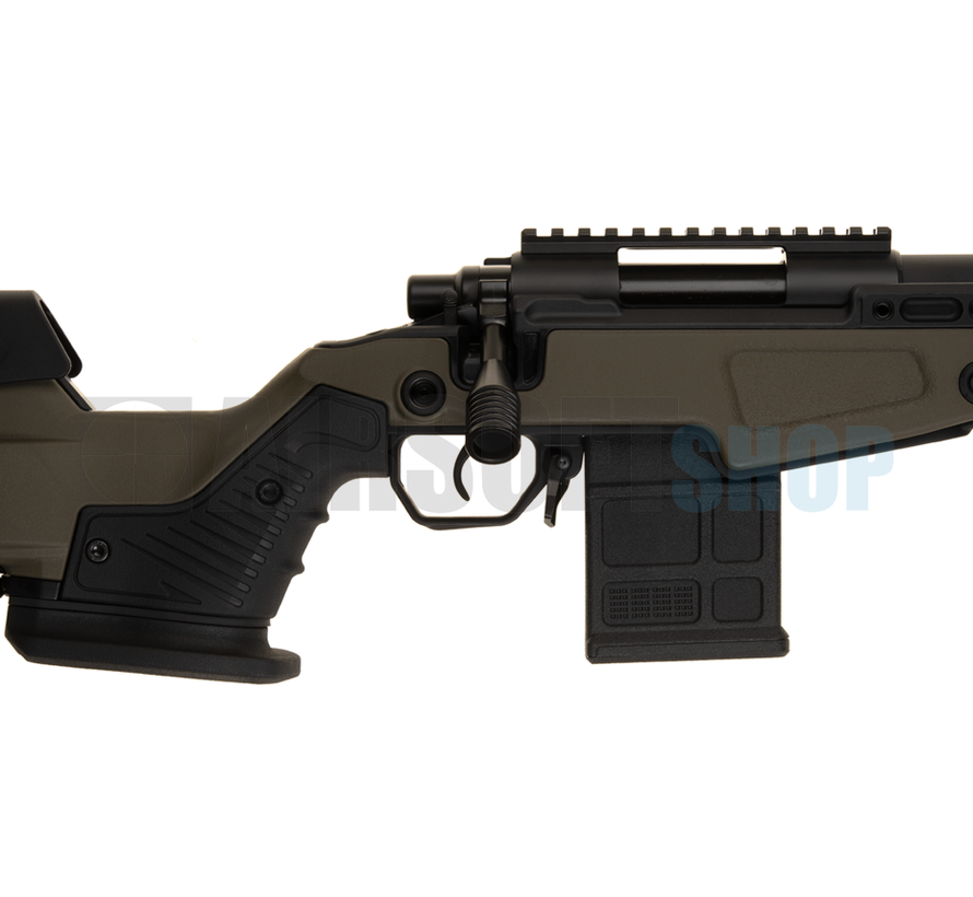 AAC T10 Short Bolt Action Sniper Rifle (Olive)