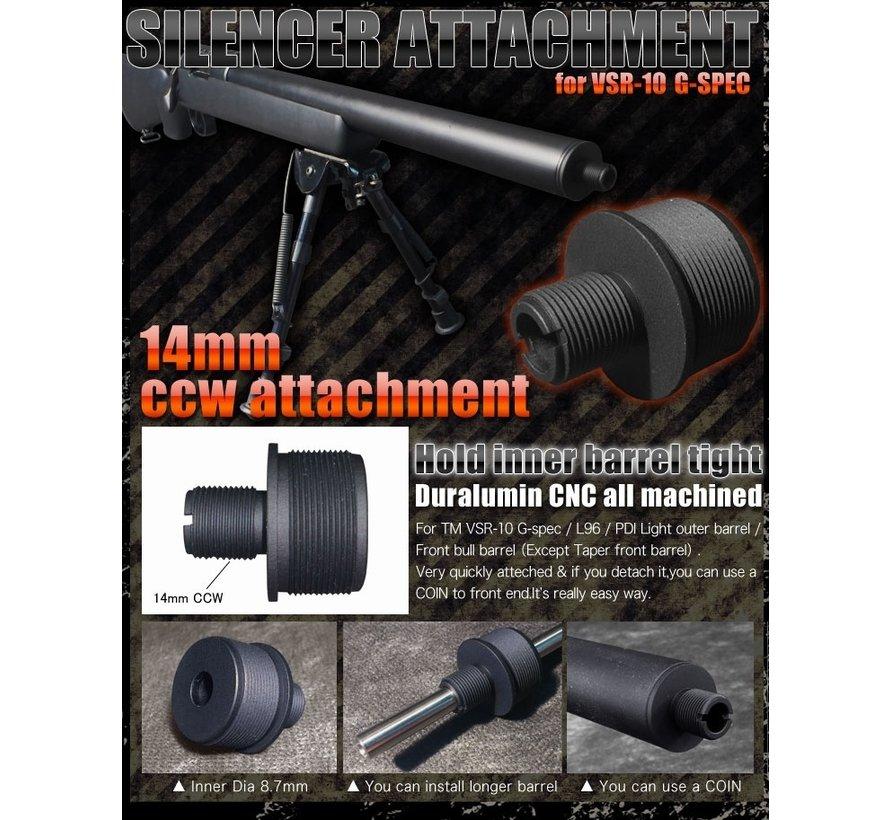 Silencer Attachment for TM VSR-10 G-SPEC